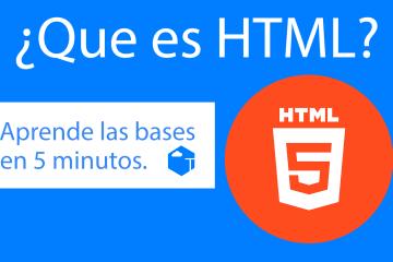 Aprende y Entiende HTML!