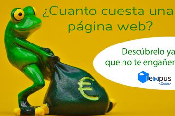 ¿Cuanto cuesta una página web?