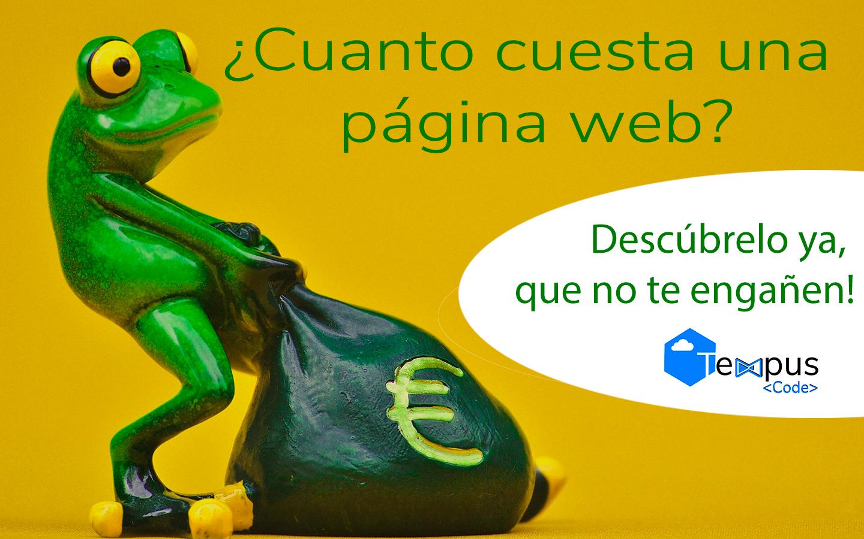 ¿Cual es el precio de una pagina web?