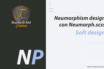 Neumorfismo, tendencias de diseño web con Neumorph.scss
