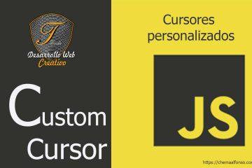 Custom cursor JavaScript – GSAP