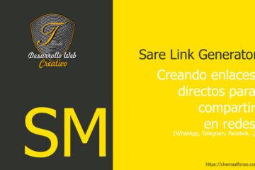 Share Link Generator – Generador de enlaces directos para WhatsApp y redes sociales